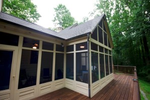 Baltimore Screen Porch Design Build Renovation Remodeling