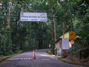 Trilha da Cachoeira do Horto - Entrada do Parque Nacional da Tijuca