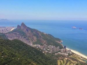 Trilha da Pedra Bonita - Vista da Zona Sul do Rio de Janeiro