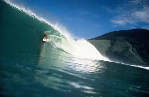 Maresias, um dos melhores picos de surf do Brasil