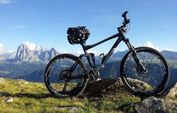 Bicicleta para trilha