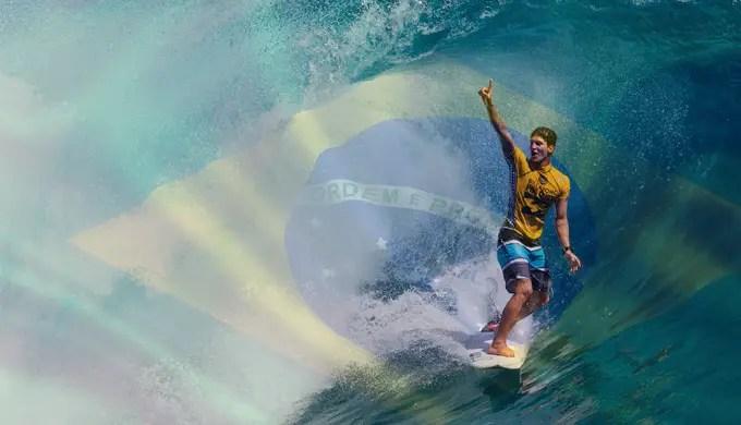 picos do mundial de surf - Gabriel Medina