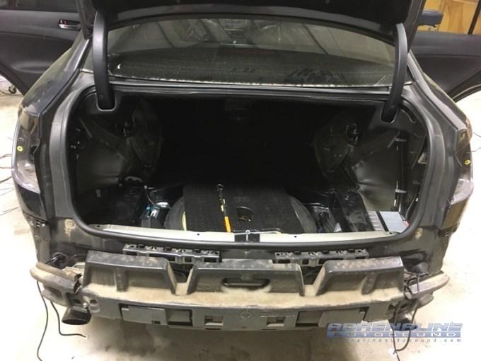 Lexus IS250 Blind Spot System