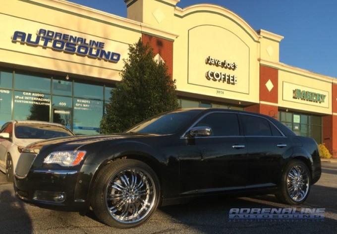 Smithfield Client Gets Impressive Chrysler 300s Audio