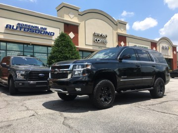 Holly Springs Chevy Client Gets Tahoe Audio System Upgrade