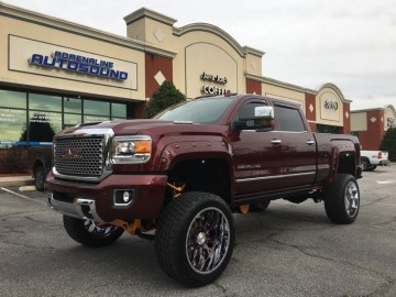 Repeat Raleigh Car Audio Client Gets GMC Sierra Upgrades