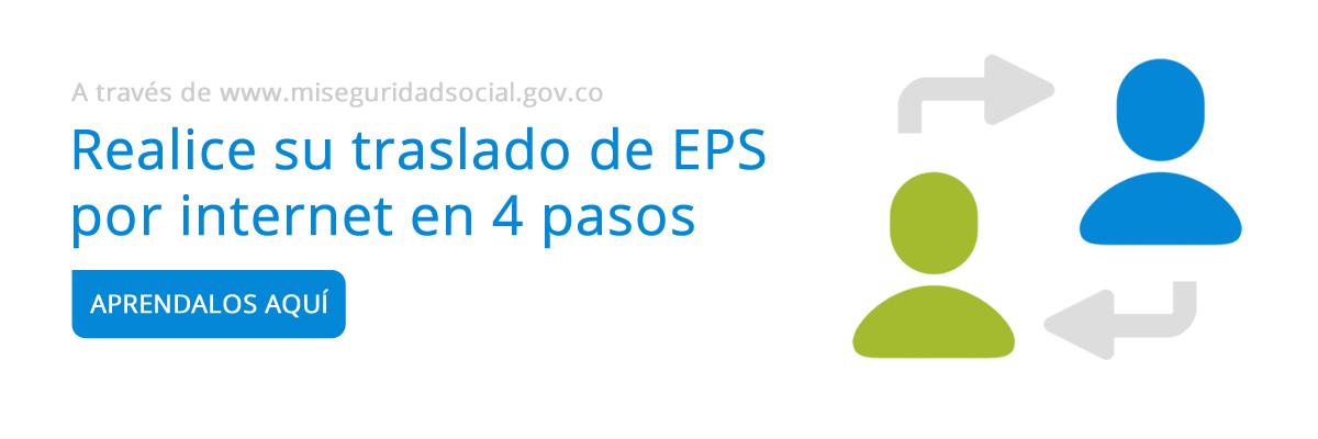 Realizar traslado de EPS por internet con MiSeguridadSocial