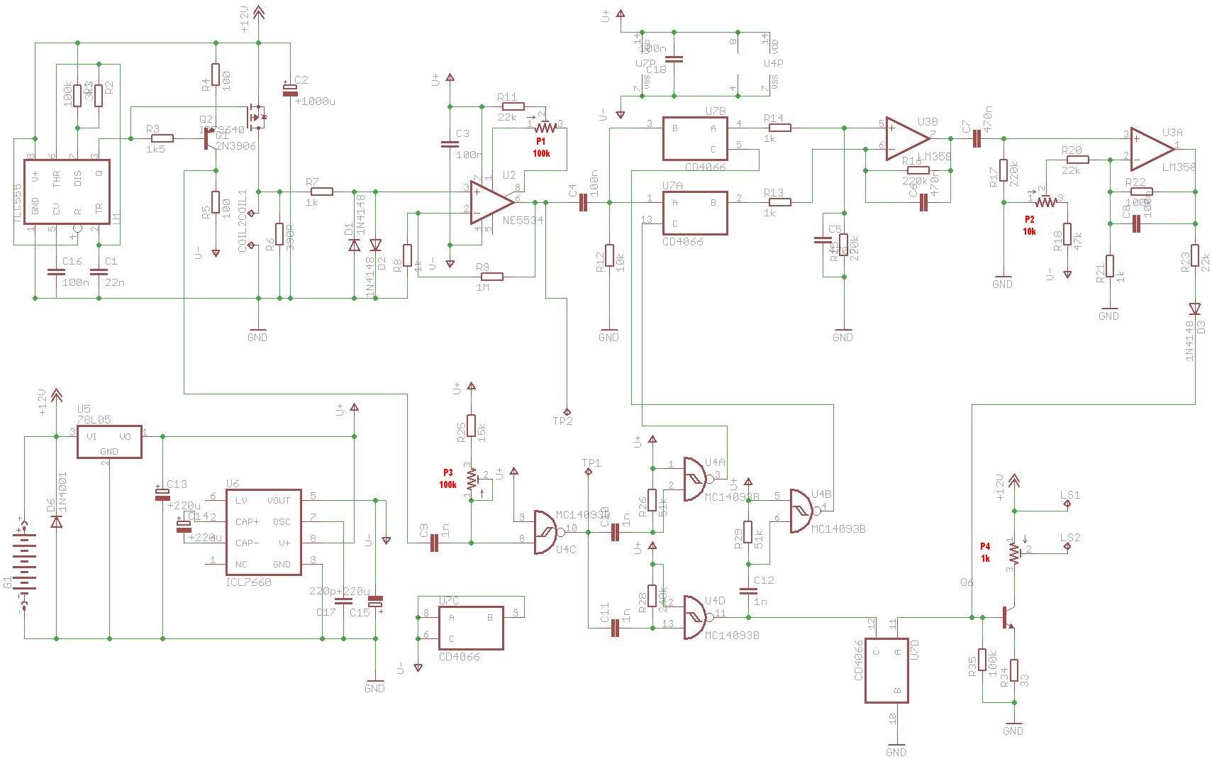 how to build a surf pi 1 2 pulse induction metal detector  diy surfmaster pi metal detector