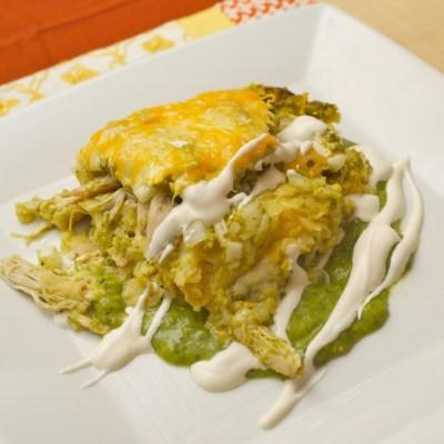 """My Famous """"Enchiladas Verdes"""""""
