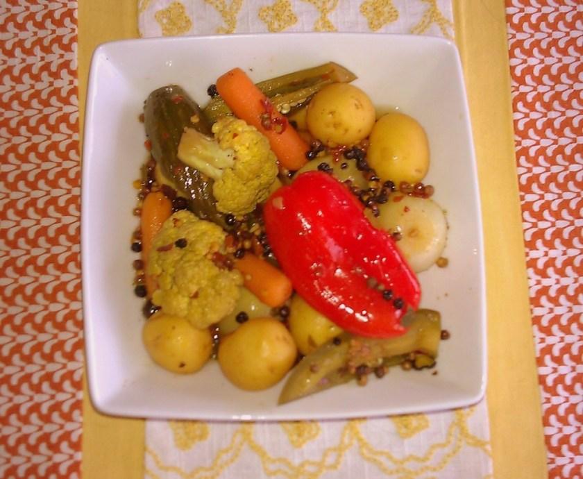 Pickled Veggies Delight