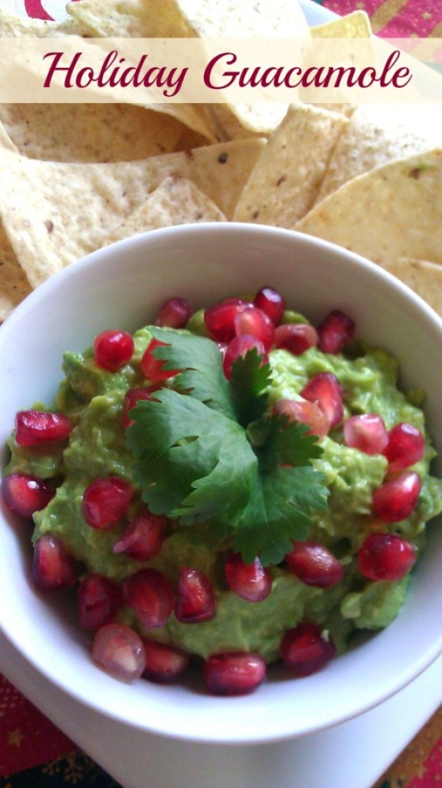 Holiday guacamole a family tradition for Christmas #ABRecipes
