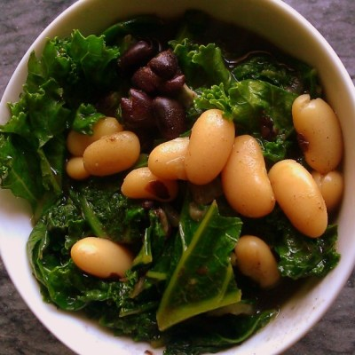 Kale & Beans