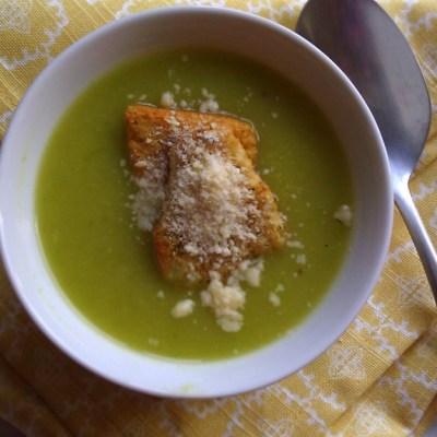 Roasted Leek & Potato Soup