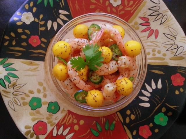 Umami Shrimp Ceviche