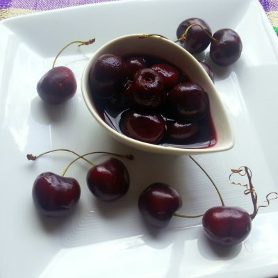 Chocolate Wine and Cherries
