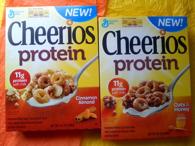 Welcome Cheerios Protein #CheeriosProtein
