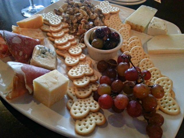 Cheese Platter at Lake Eola Wine Co #OrlTaste