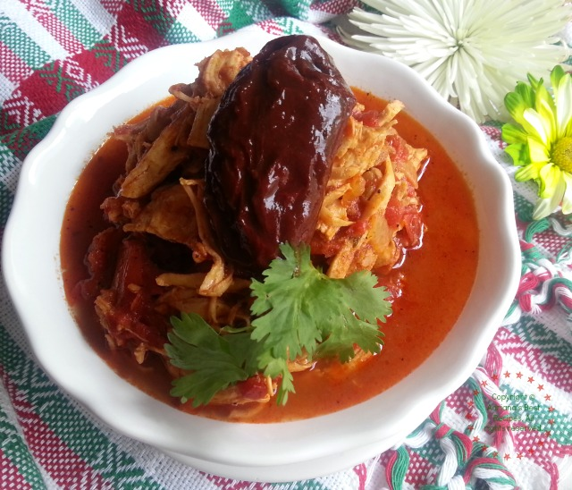 Chicken tinga is a Mexican dish from Puebla #ABRecipes
