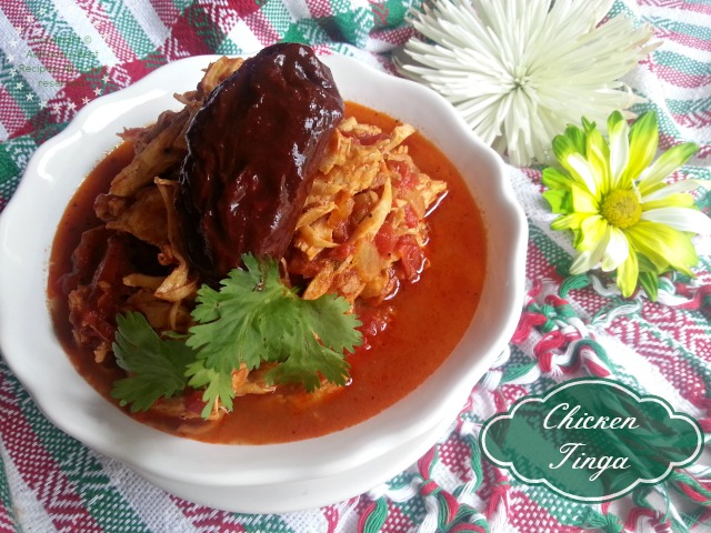 Chicken Tinga Recipe #ABRecipes