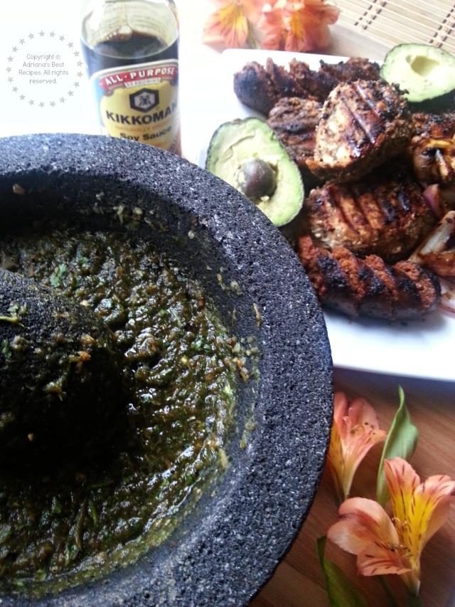 Kikkoman flavor adds umami to this Mexican Parrillada #KikkomanSAbor #ad #ABRecipes