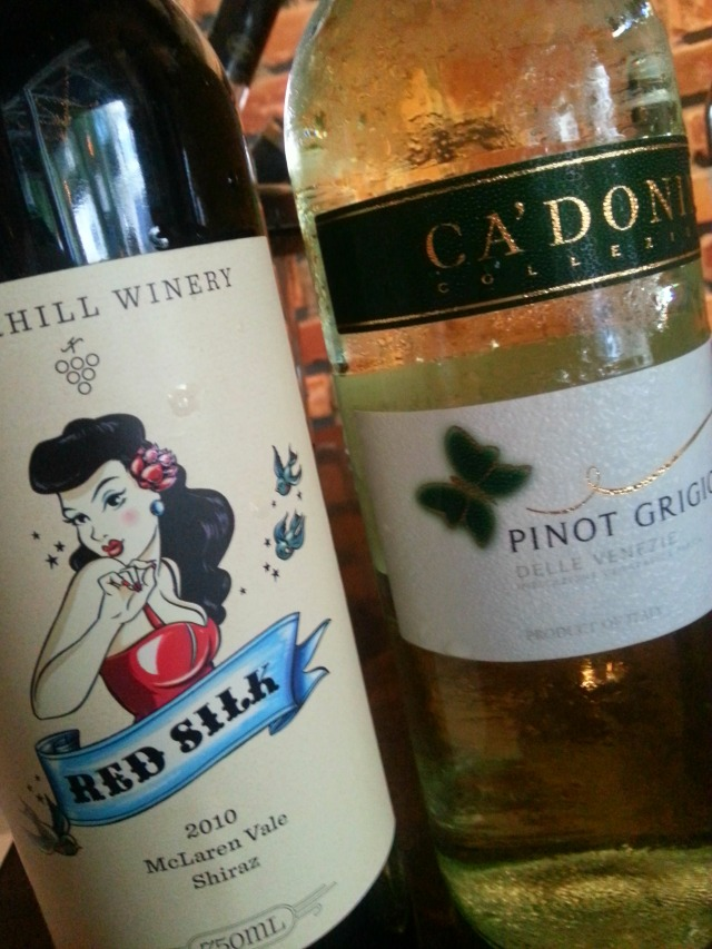 Wines served at Wine Wednesdays at Eola Wine Co #OrlTaste