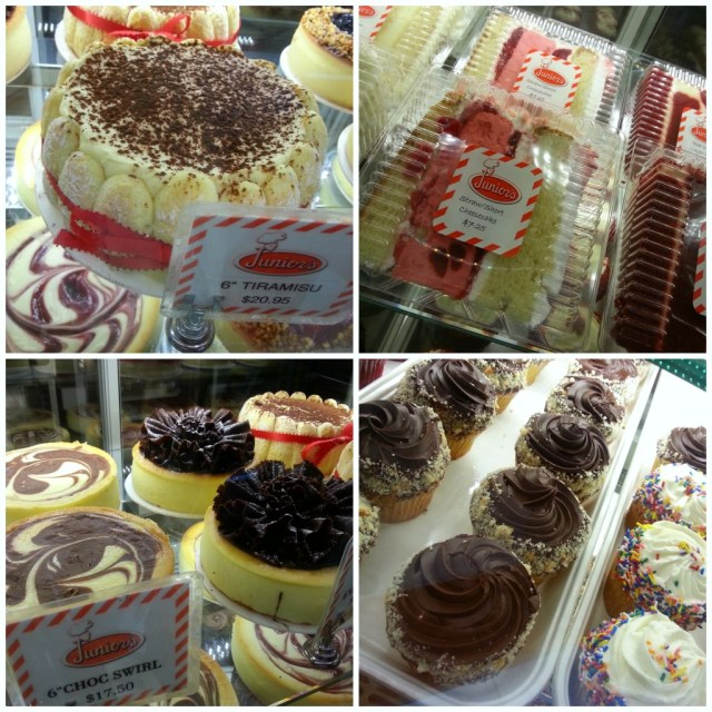 Juniors New York Bakery #FoodieTravels