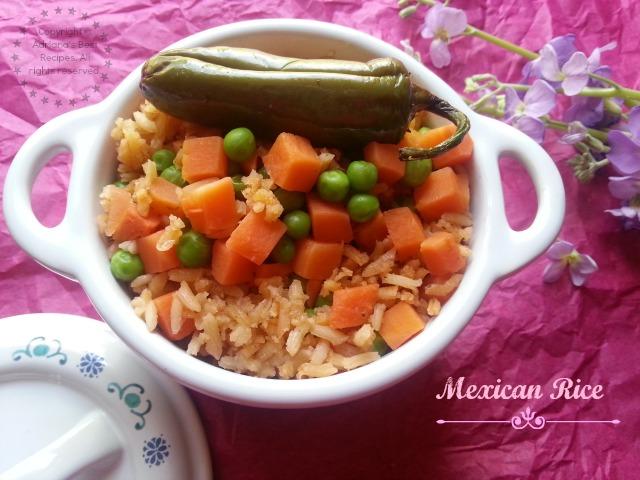 Mexican Rice Recipe #USBtradiciones #ad