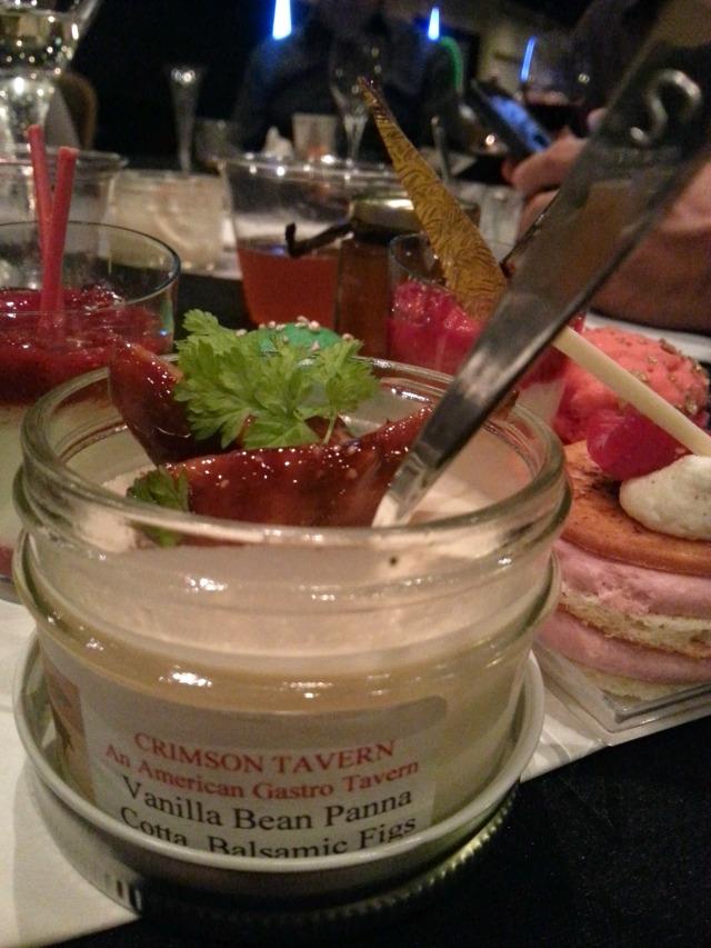 My favorite dessert crafted by Crimson Tavern Chefs #OrlTaste #ABRecipes