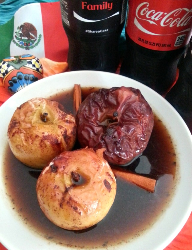 Apples A la Mode to celebrate Hispanic Heritage Month #MomentosCoke #ad