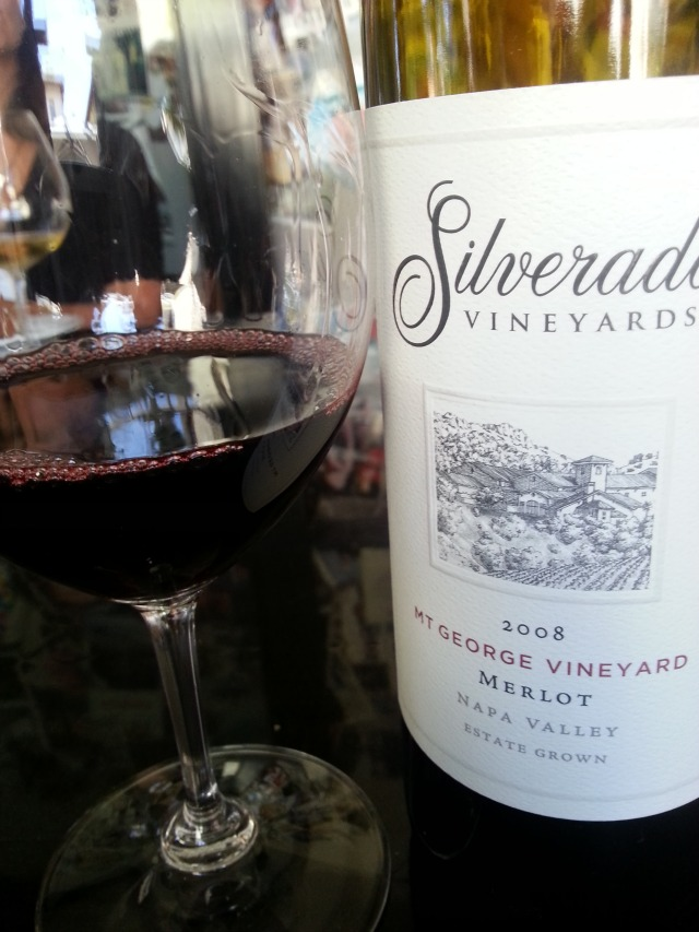 Silverado Vineyards 2008 Merlot from Napa Valley #TASTE14