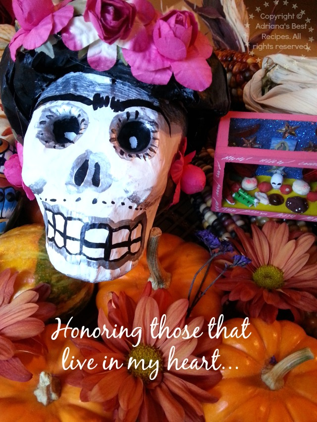Honoring those that live in my heart #GoAutentico #CaciqueRecipes #DiaDeLosMuertos #DayoftheDead #ad