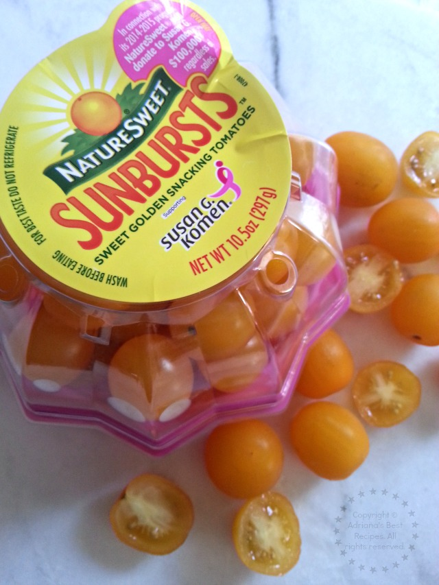 NatureSweet Sunbursts great for snacking #NatureSweet #ad