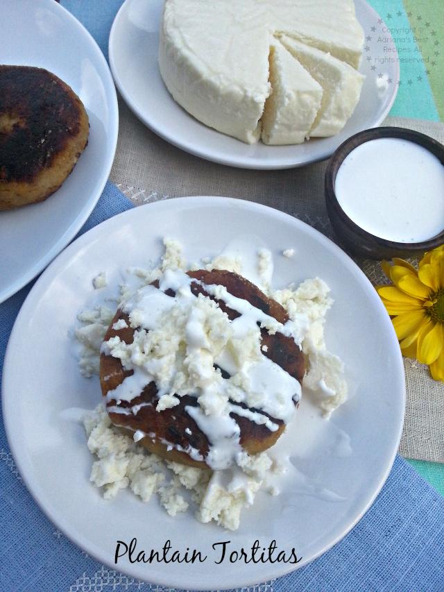Tortitas de Platano para la cena del Día de Muertos