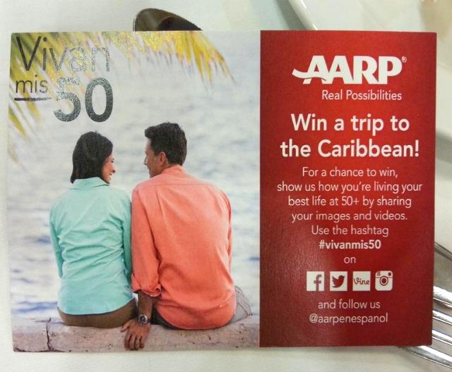 AARP Vivan Mis 50 Promotion #VivanMis50 #AARPCuidar #LATISM14