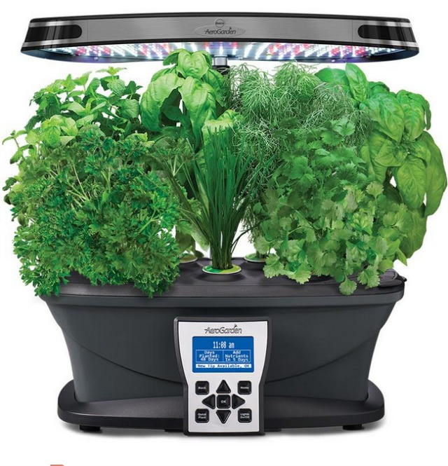 Miracle-Grow AeroGarden ULTRA LED you can win one of these check KitchenPLAY for details #AeroGarden #ad