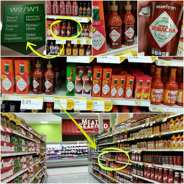 Shopping at Target and found Tabasco NEW Thai Chili Sauce #SeasonedGreetings #ad