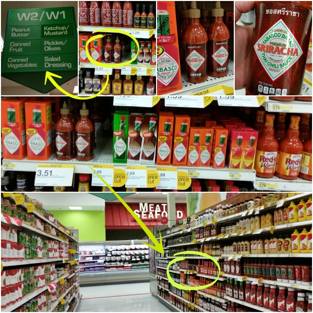 Shopping at Target and found Tabasco NEW Thai Chili Sauce #SeasonedGreetings #ad