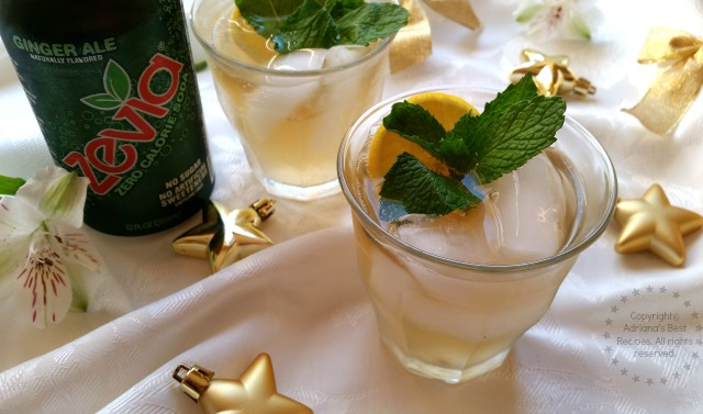 Zevia Moscow Mule #CheersTo #ad
