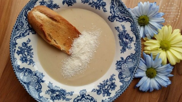 Roasted Cauliflower Soup #LentenRecipes #ABRecipes