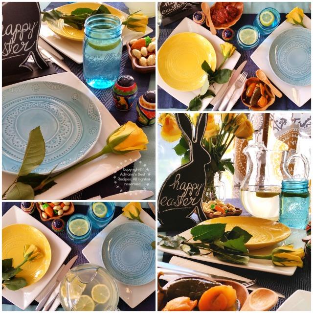 Easter Tablescape Idea #VivaLaMorena #ad