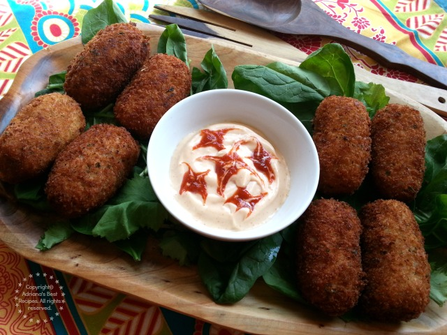 Easy Salmon Croquettes Recipe #ComidaKraft #ad