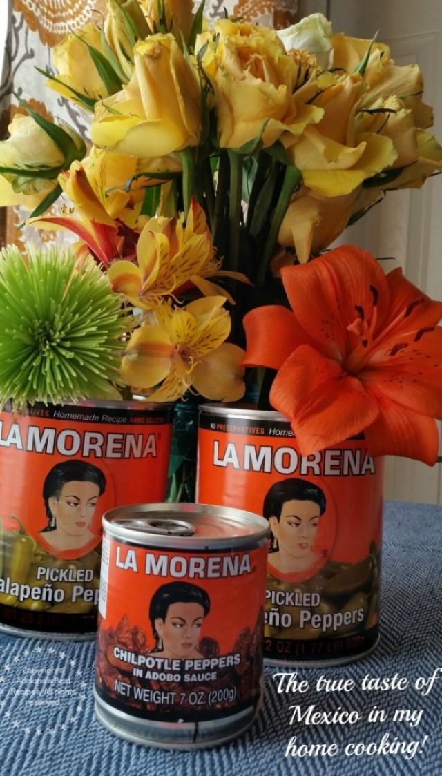 La Morena the true taste of Mexico in my home cooking #VivaLaMorena #ad