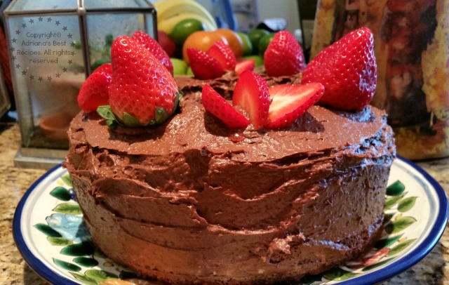 Mexican Chocolate Cake recipe inspired in a recipe from the past #ABRecipes