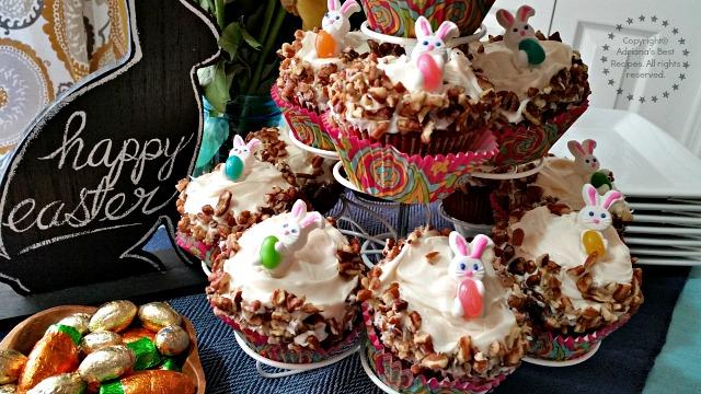 Easy Carrot Cupcakes Recipe  #ABRecipes