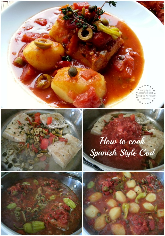 How to cook Spanish Style Cod or Bacalao a la Vizcaína #ABRecipes