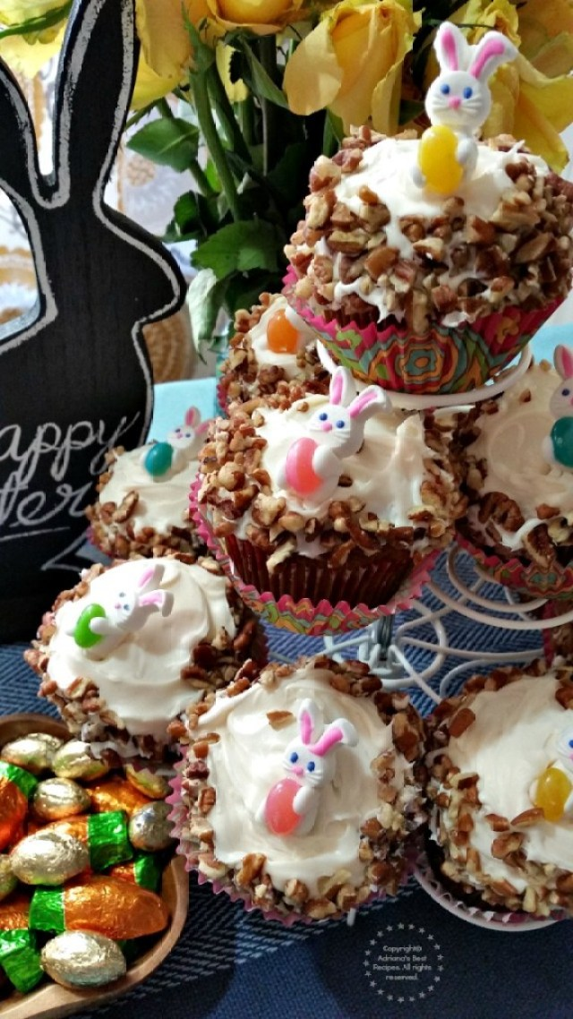 This easy carrot cupcakes recipe is one of those you need to include in your repertoire #ABRecipes