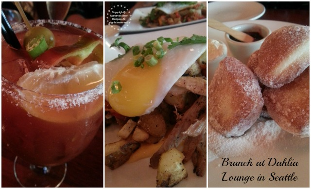 Brunch at Dahlia Lounge in Seattle #MobileMemories #ad