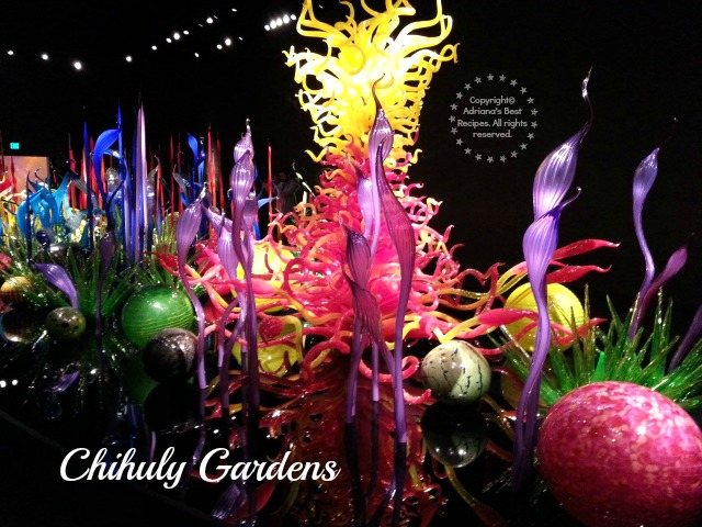 Chihuly Gardens in Seattle #MobileMermories #ad