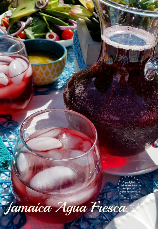 Jamaica Agua Fresca #ABRecipes