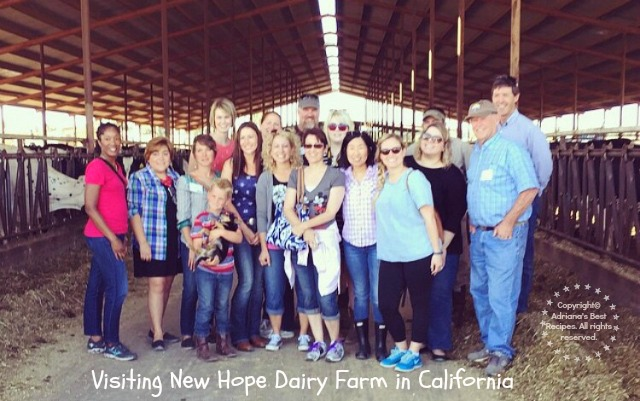 Visiting New Hope Dairy in California #TASTE15